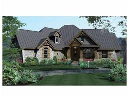 French Country House Plans One Story French Country House Plan On One Story Country House Plans French