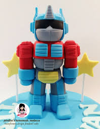 transformers bumblebee and optimus party cake topper optimus prime 3d transformer fondant figure