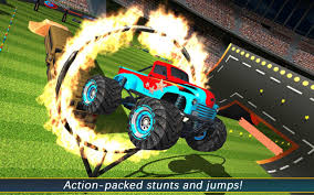 monster truck game video aen monster truck arena 2017 android apps on google play
