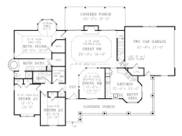 country cottage floor plans endearing houseplans com country farmhouse main floor plan 456 6