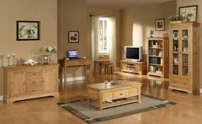 Wimereux Oak Coffee Table With Shelf  Drawer Uniques Furniture Shop - Oak living room sets