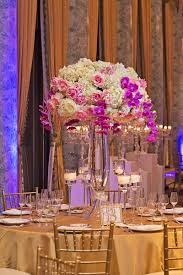 orchid centerpieces reception décor photos hydrangea and orchid