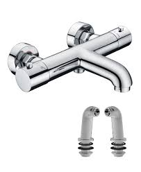 luca plus thermostatic bath shower mixer aqualla brassware luca plus thermostatic bath shower mixer
