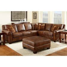 Costco Leather Sectional Sofa Costco Helena Leather Sectional And Ottoman Decorating