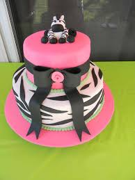 lime green pink zebra theme baby shower party ideas photo 1 of