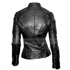moto jacket womens black leather moto jacket ladies quilted jacket with snap