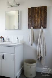 Bathroom Wall Ideas On A Budget Remodelaholic Diy Bathroom Remodel On A Budget And Thoughts On