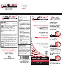 formula 3 antifungal fungifoam topical treatment kansas foot center