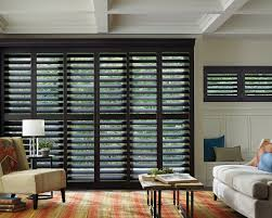 black plantation shutters for sliding glass doors u2014 home ideas