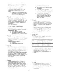 maths cxc all