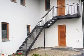 metallbau treppen innen und außentreppen metallbau pröbst schlosserei stahlbau