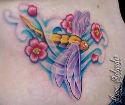 34 best flower and dragonfly tattoo images on pinterest flowers