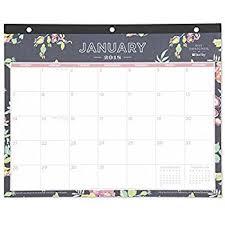 desk pad calendar 2018 amazon com day designer for blue sky 2018 monthly desk pad