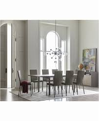 8 person dining table set elegant dining room furniture macy s