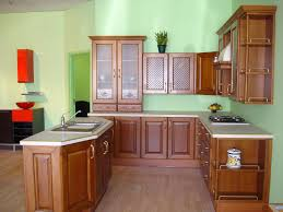 kitchen with wood cabinets cheerful classic italian kitchen with