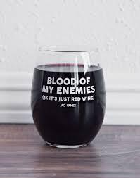 blood of my enemies wine glass drink pinterest enemies wine