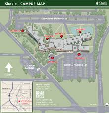 campus maps oakton community college