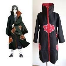 Naruto Halloween Costumes Adults Naruto Akatsuki Uchiha Itachi Robe Cloak Coat Anime Cosplay