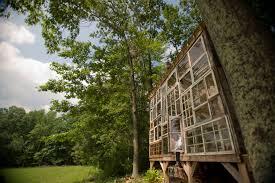 nick and lilah u0027s glass cabin