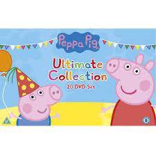 peppa pig ultimate boxset dvd zavvi