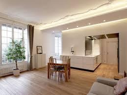 faux plafond cuisine aménagement intérieur exemples de faux plafonds astucieux