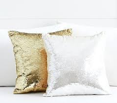 Silver Sequin Pillows Decorative Pillow Tar – knightsarchive