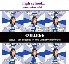Girls On Facebook Meme - afg in high school and college annoying facebook girl know your meme