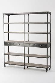 Double Bookcase Decker Double Bookcase Tall Anthropologie