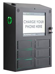 secure cell phone charging stations u0026 lockers safecharge