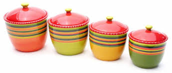 colorful kitchen canisters decorative kitchen canisters sets kitchen ideas