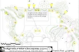 Landscape Lighting Plan Exles Of Landscape Design Drawings Bathroom Design 2017 2018