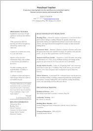 sample resume for freshers pdf sample resume for preschool teacher fresher frizzigame cover letter sample resume for teaching assistant sample resume