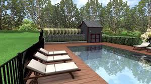 wood pool deck youtube