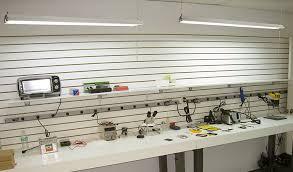 linkable led shop lights 4 pack of leonlite 40w 4ft linkable led utility shop light 79 99