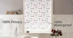 Waterproof Bathroom Window Curtain Bathroom Blinds Waterproof U0026 Blackout Blinds With Complete