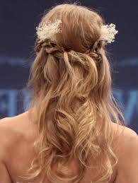 half updo wedding hairstyles beautiful long hairstyle