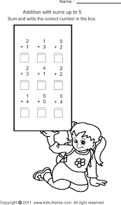 simple math worksheets for kindergarten mreichert kids worksheets