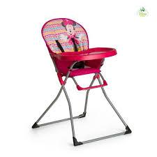 achat chaise haute chaise haute accessoires minnie de bébé achat vente chaise