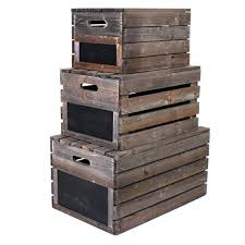 wooden crate marko wooden crate vintage rustic style apple fruit crates storage