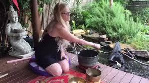 3 minute mindfulness peaceful tibetan bowls on a rainy day