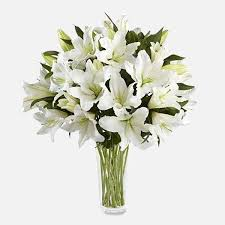 white lillies white lilies flower delivery nyc florist plantshed