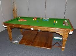 6 ft billiard table e j riley 6ft solid oak snooker table refurbished