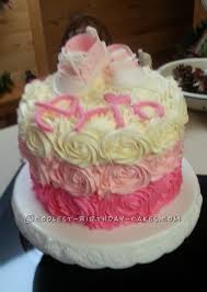 surprise baby shower cake