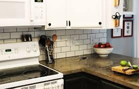 diy tile backsplash kitchen design how to install tile backsplash subway in kitchen