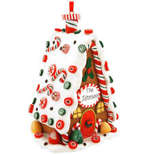 gingerbread ornaments personalized gingerbread house ornament novelty nostalgia