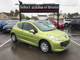 peugeot cars 2006 used peugeot 207 yellow for sale motors co uk