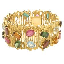color stone bracelet images Gold and multi colored stone bracelet h stern at 1stdibs multi jpg
