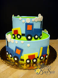 train fondant wrap shower cake no ordinary cake pinterest