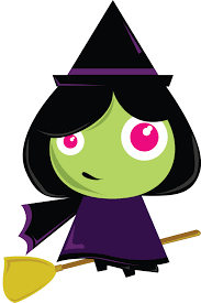 cute halloween witch clipart clipartxtras