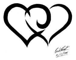 best 25 tribal heart tattoos ideas on pinterest small tribal